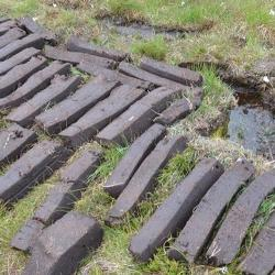 Peat Cutting on Hoy