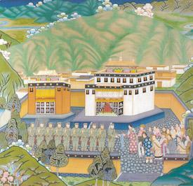 Tashi Tsering at Labrang